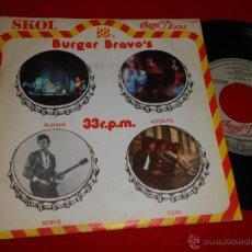 Discos de vinilo: BURGER BRAVO'SN BLOQUE/ASFALTO / MORIS / TOPO 7 EP 1979 CHAPA DISCOS PROMO HARD PROG HEAVY. Lote 49334434