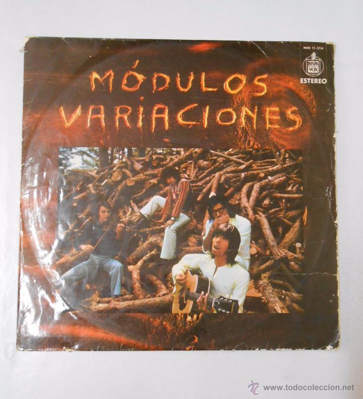 MÓDULOS. - VARIACIONES. TDKDA8 (Música - Discos - LP Vinilo - Grupos Españoles de los 70 y 80)