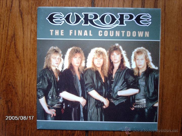 EUROPE - THE FINAL COUNTDOWN + ON BROKEN WINGS (Música - Discos - Singles Vinilo - Heavy - Metal)