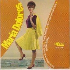 Discos de vinilo: MARIA DOLORES - LA MUÑECA QUE HACE NO + 3 - EP SPAIN 1966 EX / EX. Lote 88116544