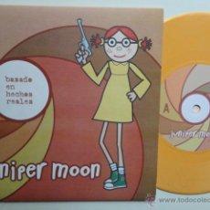 Discos de vinilo: JUNIPER MOON- BASADO EN HECHOS REALES - EP 2000 + INSERT- COMO NUEVO.. Lote 49338373