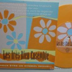 Discos de vinilo: LES TRES BIEN ENSEMBLE- JE VEUX ETRE UN SYMBOL SEXUEL- EP 1999 - COMO NUEVO.. Lote 49338426