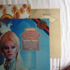 Discos de vinilo: LP 3-ROSSINI:LÍTALIANA IN ALGERI VALENTINI TERRANI FERRO. Lote 49338579