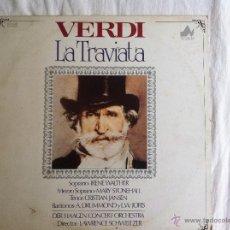 Discos de vinilo: LP VERDI-LA TRAVIATA-DER HAAGEN CONCERT ORCHESTRA. Lote 49338891