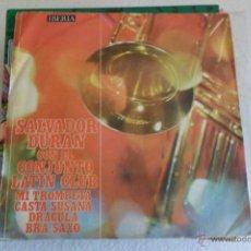 Discos de vinilo: SALVADOR DURAN CON EL CONJUNTO LATIN CLUB - MI TROMPETA + 3 EP 1970. Lote 49339860