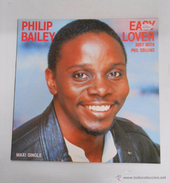 PHILIP BAILEY. EASY LOVER. DUET WITH PHIL COLLINS. TDKDA12 (Música - Discos de Vinilo - Maxi Singles - Cantautores Extranjeros)