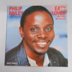 Discos de vinilo: PHILIP BAILEY. EASY LOVER. DUET WITH PHIL COLLINS. TDKDA12. Lote 41091107
