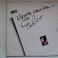 Disques de vinyle: FALCO - VIENNA CALLING (TOURIST VERSION) - 1986. Lote 49342206
