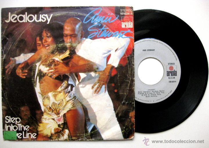 AMII STEWART - JEALOUSY - SINGLE ARIOLA 1979 BPY (Música - Discos - Singles Vinilo - Funk, Soul y Black Music)