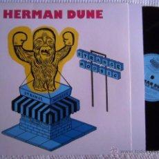 Discos de vinilo: HERMAN DUNE - '' STRANGE MOOSIC '' LP + BOOKLET UK. Lote 49344364