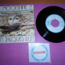 Discos de vinilo: MOONSHINE - JUST A LITTLE MORE LINE -SINGLE SPAIN PROM0 ERIKA 1972. Lote 49344413