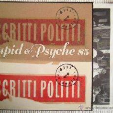 Discos de vinilo: SCRITTI POLITTI - '' CUPID & PSYCHE 85 '' LP + INNER ORIGINAL USA. Lote 49345377