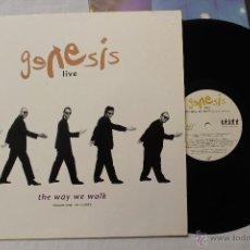 Discos de vinilo: GENESIS LIVE THE WAY WE WALK VOLUMEN ONE THE SHORTS LP VINYL VIRGIN RECORDS 1992. Lote 49345602