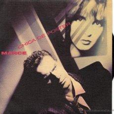Discos de vinilo: MARCE - LA CHICA DEL POSTE - SINGLE.. Lote 49345755