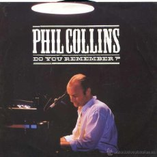 Discos de vinilo: PHIL COLLINS / DO YOU REMEMBER? (LIVE) / AGAINST ALL ODDS (LIVE) SINGLE 1990. Lote 49350161