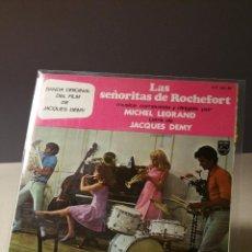 Disques de vinyle: LAS SEÑORITAS DE ROCHEFORT DE JACQUES DEMY EP. Lote 49351321