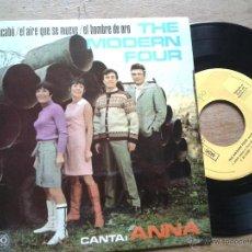THE MODERN FOUR -( CANTA ANNA EN ESPAÑOL ) ADIOS + 3 - EP SPAIN 1967 VG++ / VG++