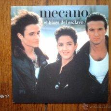 Discos de vinilo: MECANO - EL BLUES DEL ESCLAVO + LOS AMANTES - EDICIÓN FRANCESA. Lote 49354065