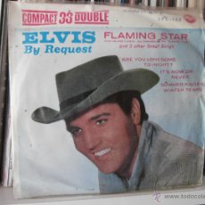 Discos de vinilo: ELVIS PRESLEY - DEL FILM FLAMING STAR ARE YOU LONESOME TO NIGHT? (1961) EDICION ESPAÑOLA. Lote 49354555