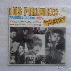 Discos de vinilo: LOS PEKENIKES - GRABACIONES INEDITAS LP 1984 HISTORIA DE LA MUSICA POP ESPAÑOLA Nº 3. Lote 49359926
