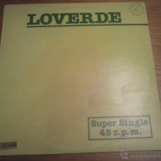 Discos de vinilo: LOVERDE DIE HARD LOVE MAXI SINGLE D. Lote 207102836