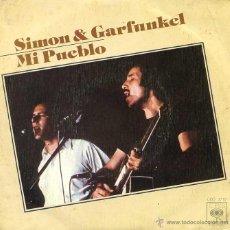Discos de vinilo: SIMON & GARFUNKEL / MY LITTLE TOWN / RAG DOLL / YOU'RE KING (SINGLE 1975). Lote 49363717