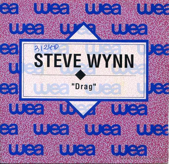 STEVE WYNN / DRAG (SINGLE PROMO 1992) (Música - Discos - Singles Vinilo - Pop - Rock Extranjero de los 90 a la actualidad)