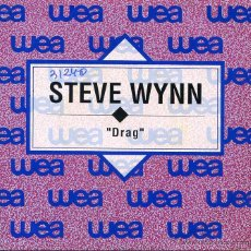 Discos de vinilo: STEVE WYNN / DRAG (SINGLE PROMO 1992). Lote 49364100