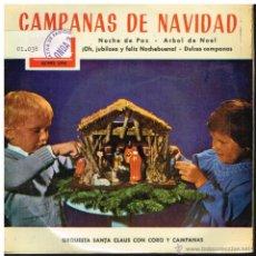 Discos de vinilo: ORQUESTA SANTA CLAUS - NOCHE DE PAZ / ARBOL DE NOEL + 2 - EP 1959. Lote 49364196