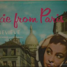 Discos de vinilo: LP-GENEVIEVE PIXIE FROM PARIS-VOX 25300-USA 195???. Lote 49365197