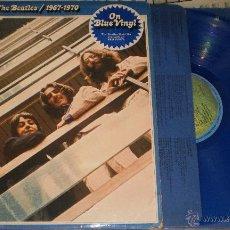 Discos de vinilo: THE BEATLES DOBLE LP.CARPETA DOBLE 1967-1970.VINILOS AZULES.INGLATERRA. Lote 49367822