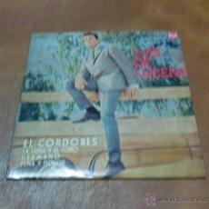 Discos de vinilo: DISCO: LUIS DE LUCENA EL CORDOBES, LA LUNA Y EL TORO Y 2 CANC. MÁS -AÑO 1964-. Lote 49368227