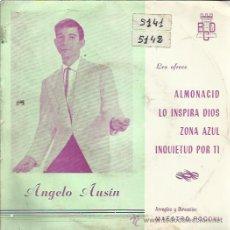 Discos de vinilo: ANGELO AUSIN EP BCD 1964 ALMONACID/ LO INSPIRA DIOS +2 MAESTRO POCOVI Y ORQUESTA PASODOBLE BOLERO. Lote 144646445