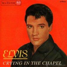 """Discos de vinilo: ELVIS PRESLEY - EP VINILO 7"""" - EDITADO EN ESPAÑA - CRYING IN THE CHAPEL + 3 - RCA VICTOR 1965. Lote 49390319"""