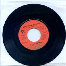 Dischi in vinile: GLEN CAMPBELL / RHINESTONE COWBOY / LOVELIGHT (SINGLE ORIGINAL USA). Lote 49391547