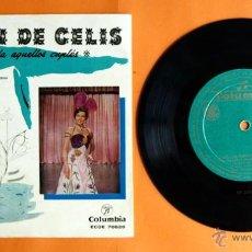 Discos de vinilo: DISCO DE VINILO - LILIAN DE CELIS - BAJO LOS PUENTES DEL SENA, LAS TARDES DEL RITZ -. Lote 204422541