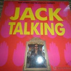 Discos de vinilo: DAVE STEWART AND THE SPRITUAL COWBOYS - JACK TALKING MAXI 45 ORIGINAL ESPAÑOL - RCA 1990 -. Lote 49394985