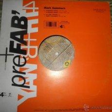 Discos de vinilo: MARK SUMMERS - SUMMERS MAGIC - MAXI 45 RPM - ORIGINAL ESPAÑOL - 4TH ISLAND 1990. Lote 49395076