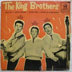 Discos de vinilo: THE KING BROTHERS - MAIS OUI + 3 - EP EDICION ESPAÑOLA. Lote 49395772