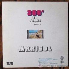 Disques de vinyle: MARISOL - 360º EN TORNO A.... Lote 49396225