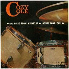 Discos de vinilo: COZY COLE - BIG NOISE FROM WINNETKA / INDIAN LOVE CALL - EP SPAIN 1964 - CORAL 94.605. Lote 49403084