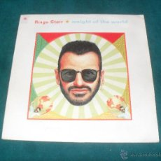 Discos de vinilo: RINGO STARR, WEIGHT OF THE WORLD. BMG ARIOLA 1992. Lote 49404832