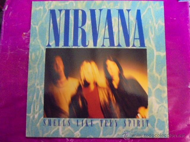 NIRVANA - SMELL LIKE TEEN SPIRIT - SUB POP 1991 - EDICION ESPAÑA - UN PAR DE USOS SOLAMENTE (Música - Discos de Vinilo - Maxi Singles - Rock & Roll)