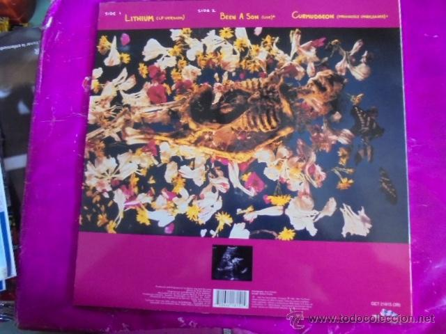 Discos de vinilo: NIRVANA - LITHIUM - 1992 - BMG ARIOLA - EDICION ESPAÑA - NUEVO COMO EL PRIMER DIA - Foto 2 - 49404887