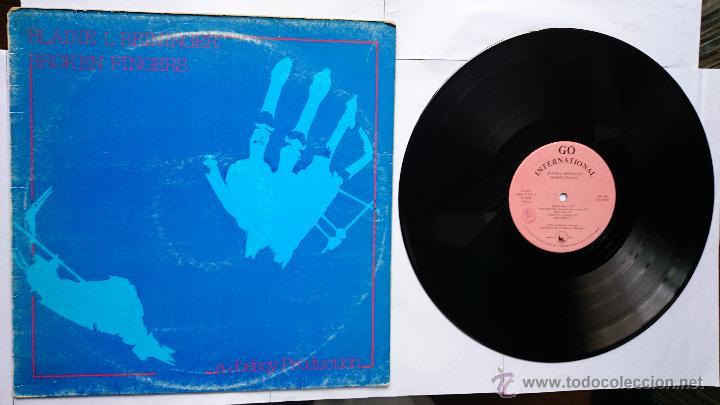 BLAINE L. REININGER (TUXEDOMOON) - BROKEN FINGERS (EDICION ITALIANA 1982) (Música - Discos - LP Vinilo - Electrónica, Avantgarde y Experimental)
