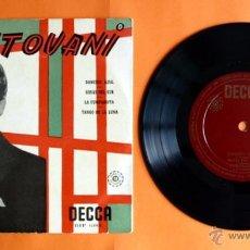 Discos de vinilo: DISCO DE VINILO - MANTOVANI Y SU ORQUESTA - DANUBIO AZUL, ROSAS DEL SUR - . Lote 49406923