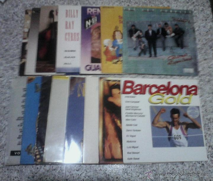 LP VINILO - LOTE DE 22 DISCOS CON LAS CARATULAS. (Música - Discos de Vinilo - EPs - Grupos Españoles de los 70 y 80)