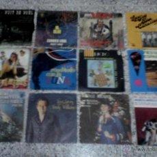 Discos de vinilo: SINGLE VINILO - LOTE DE 12 DISCOS CON LAS CARATULAS.. Lote 49414016