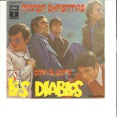 Discos de vinilo: LOS DIABLOS MANDA CHRISTMAS,CARA AL VIENTO EMI 1971. Lote 49414802
