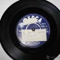 Discos de vinilo: KENNETH MCKELLAR OF A´ THE AIRTS THE WIN´CAN BLAW / THE STAR OF ROBBIE BURNS DECCA 11219, 1959. Lote 49415488